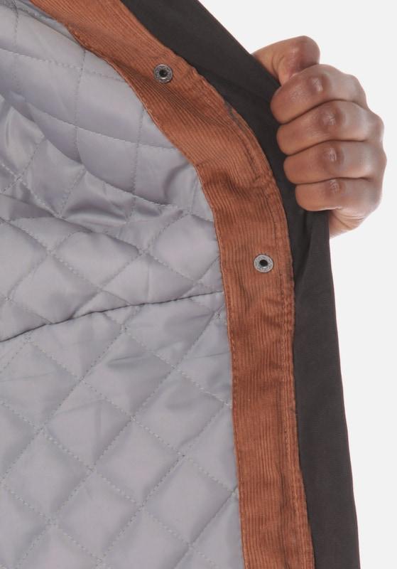 Lakeville Mountain Mountain Mountain Jacke 'Karaka' in grau   schwarz  Freizeit, schlank, schlank 0eb59e