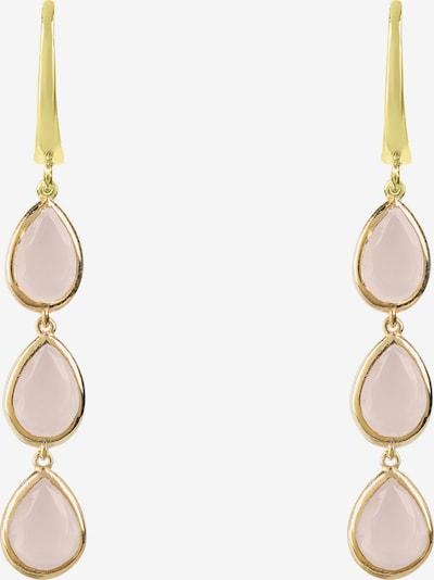 Latelita Oorbellen in de kleur Goud / Rosa, Productweergave