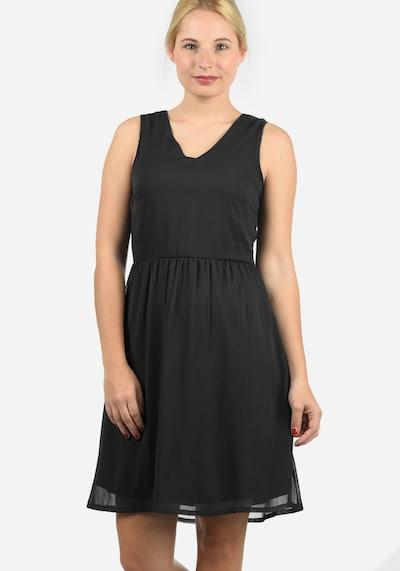 Blend She Chiffonkleid 'Charly' in schwarz, Modelansicht