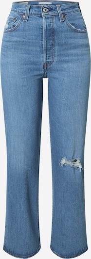 Jeans LEVI'S pe albastru: Privire frontală
