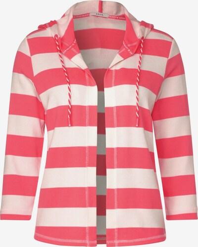 CECIL Sweatjacke in pink / hellpink, Produktansicht