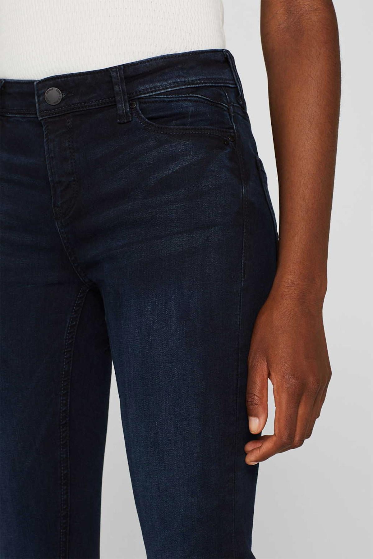 Beliebt Frauen Bekleidung ESPRIT Jeans in dunkelblau Zum Verkauf