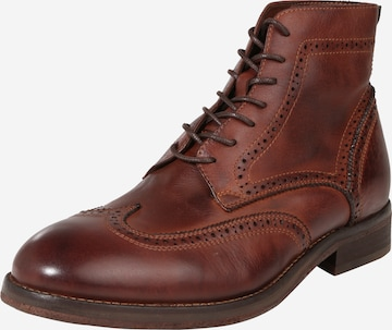 Hudson London Boots 'Anderson Drum Dye' in Brown