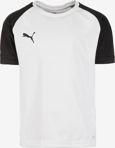PUMA Trainingsshirt 'Cup' in schwarz / weiß: Frontalansicht