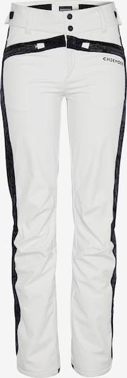 CHIEMSEE Outdoorbroek in de kleur Zwart / Wit, Productweergave
