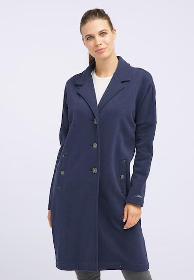DREIMASTER Sweatmantel 'Maritim' in blau, Modelansicht