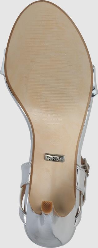 BUFFALO in Riemchensandalen in BUFFALO Lack-Optik Verschleißfeste billige Schuhe bd58a1