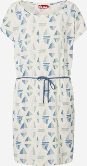 Derbe Kleid 'Sail' in creme / blau / grau, Produktansicht