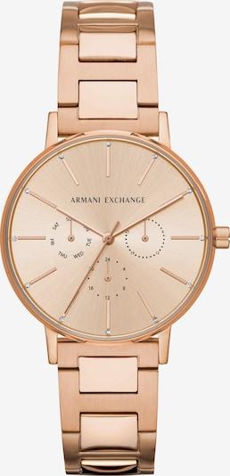Emporio Armani Uhr in rosegold, Produktansicht