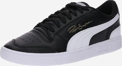 fekete / fehér PUMA Rövid szárú edzőcipők 'Ralph Sampson Lo', Termék nézet