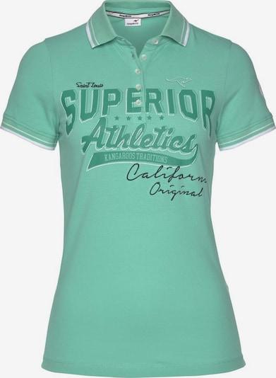 KangaROOS Poloshirt in mint, Produktansicht