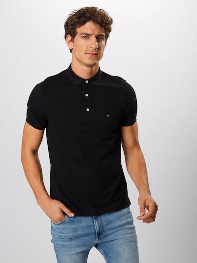 TOMMY HILFIGER T-Krekls pieejami melns: Priekšējais skats