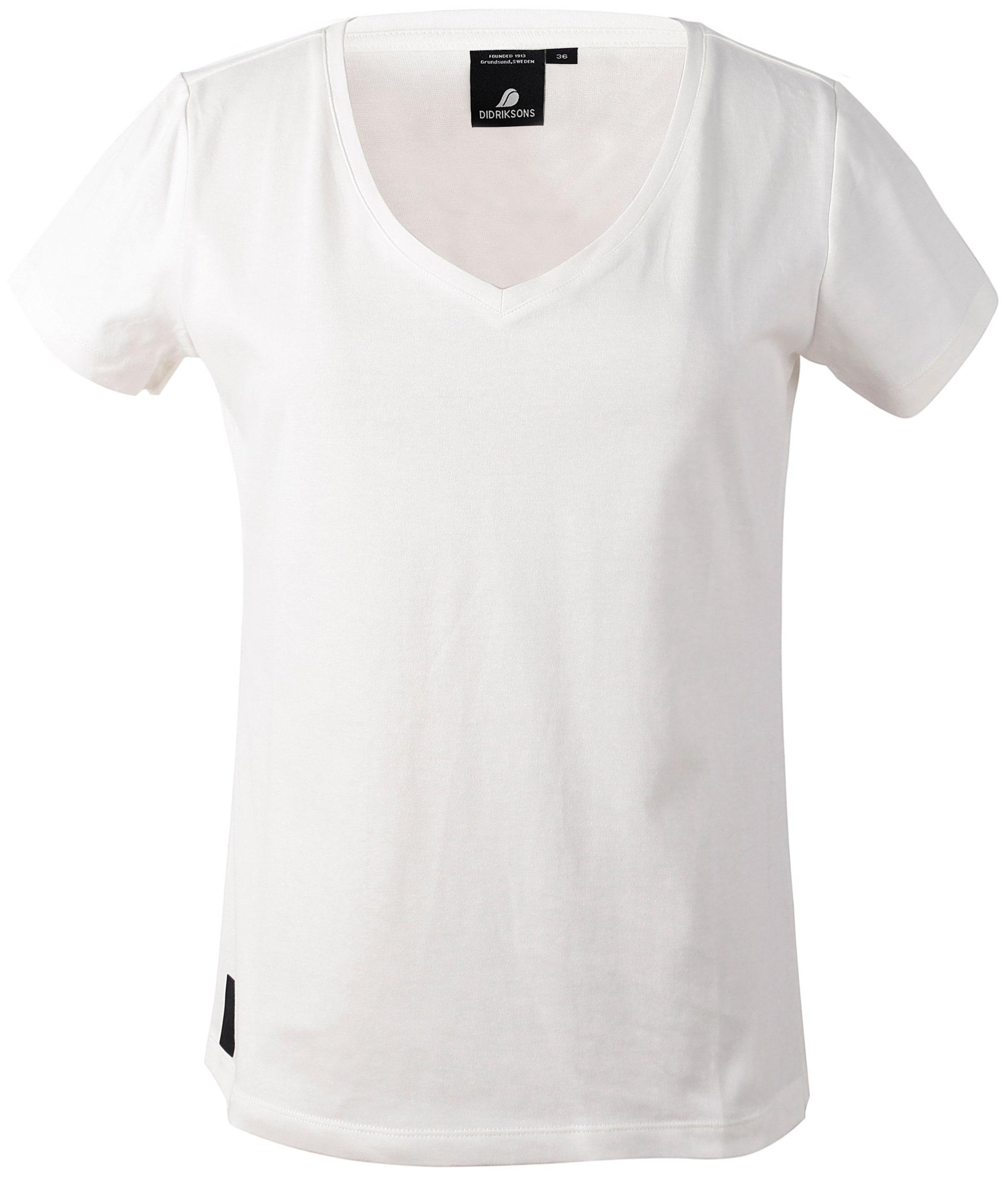 shirt Didriksons1913 Weiß 'ebba' T In bgY6yf7v