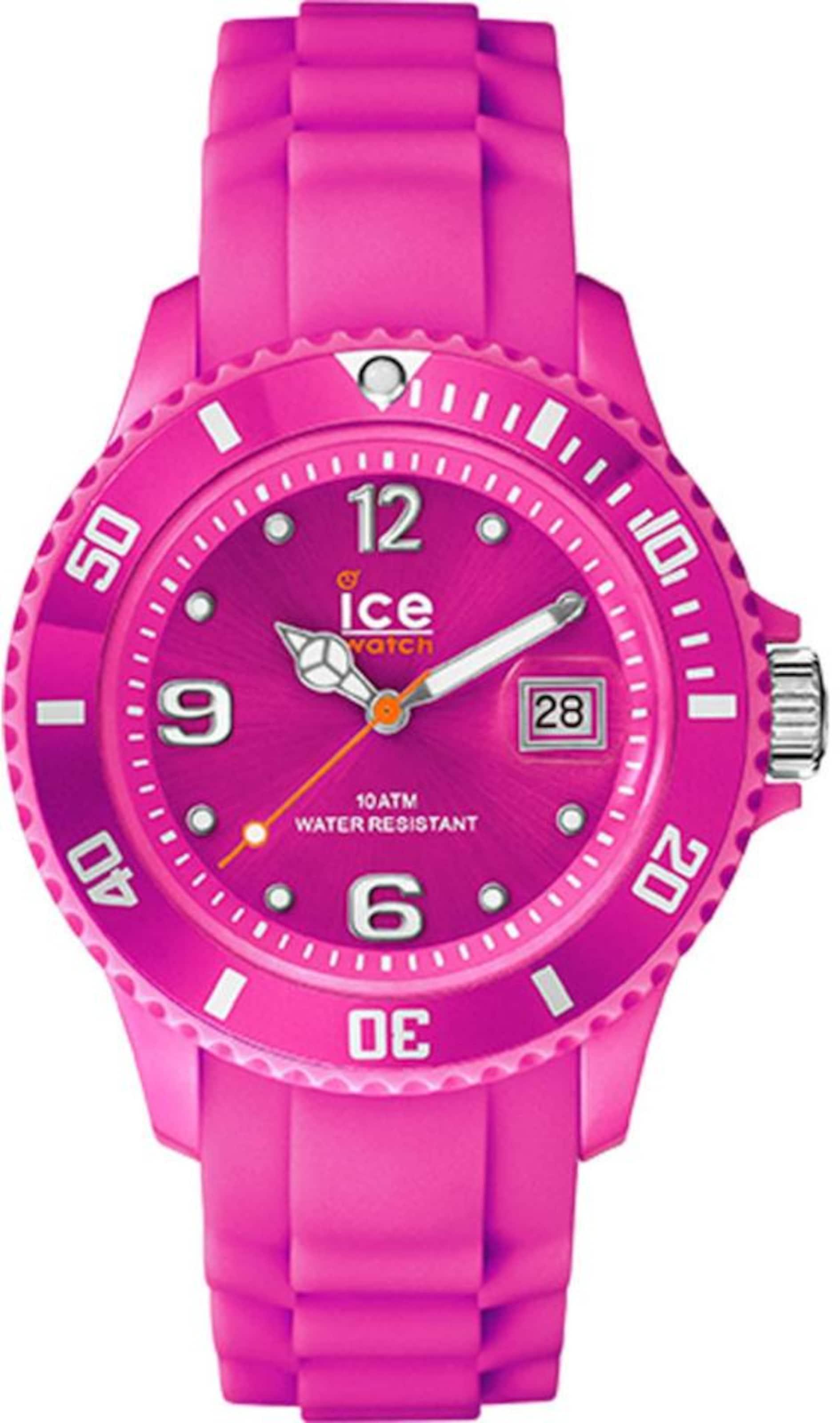 ICE WATCH Quarzuhr 'ICE forever - Neon Pink - Medium, SI.NPK.U.S.15'