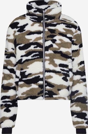 Urban Classics Jacke in beige / grün / schwarz, Produktansicht