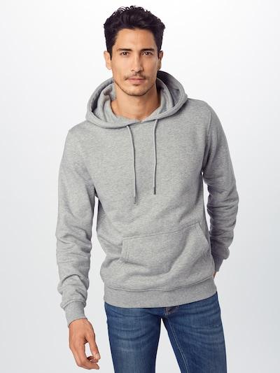 Urban Classics Sweatshirt in grau: Frontalansicht