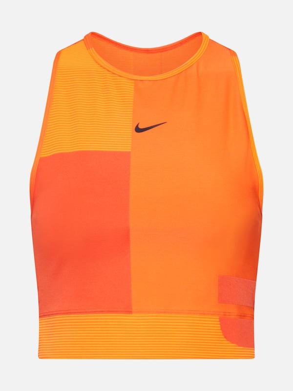 371e93bd5ca0 NIKE Športový top vo farbe oranžová