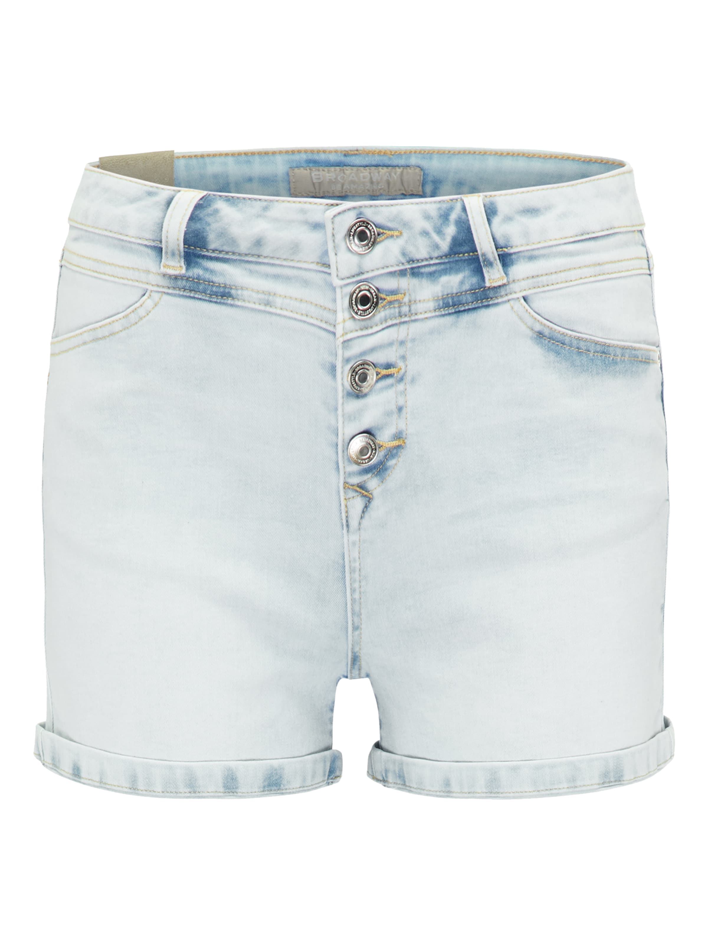 Denim Nyc Fashion Shorts In Blue Broadway uOXZPki