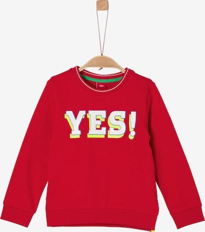 s.Oliver Sweatshirt in rot, Produktansicht
