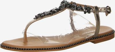 SALAMANDER Sandaletten in gold, Produktansicht