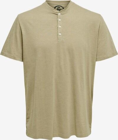 Only & Sons Shirt in de kleur Kaki, Productweergave