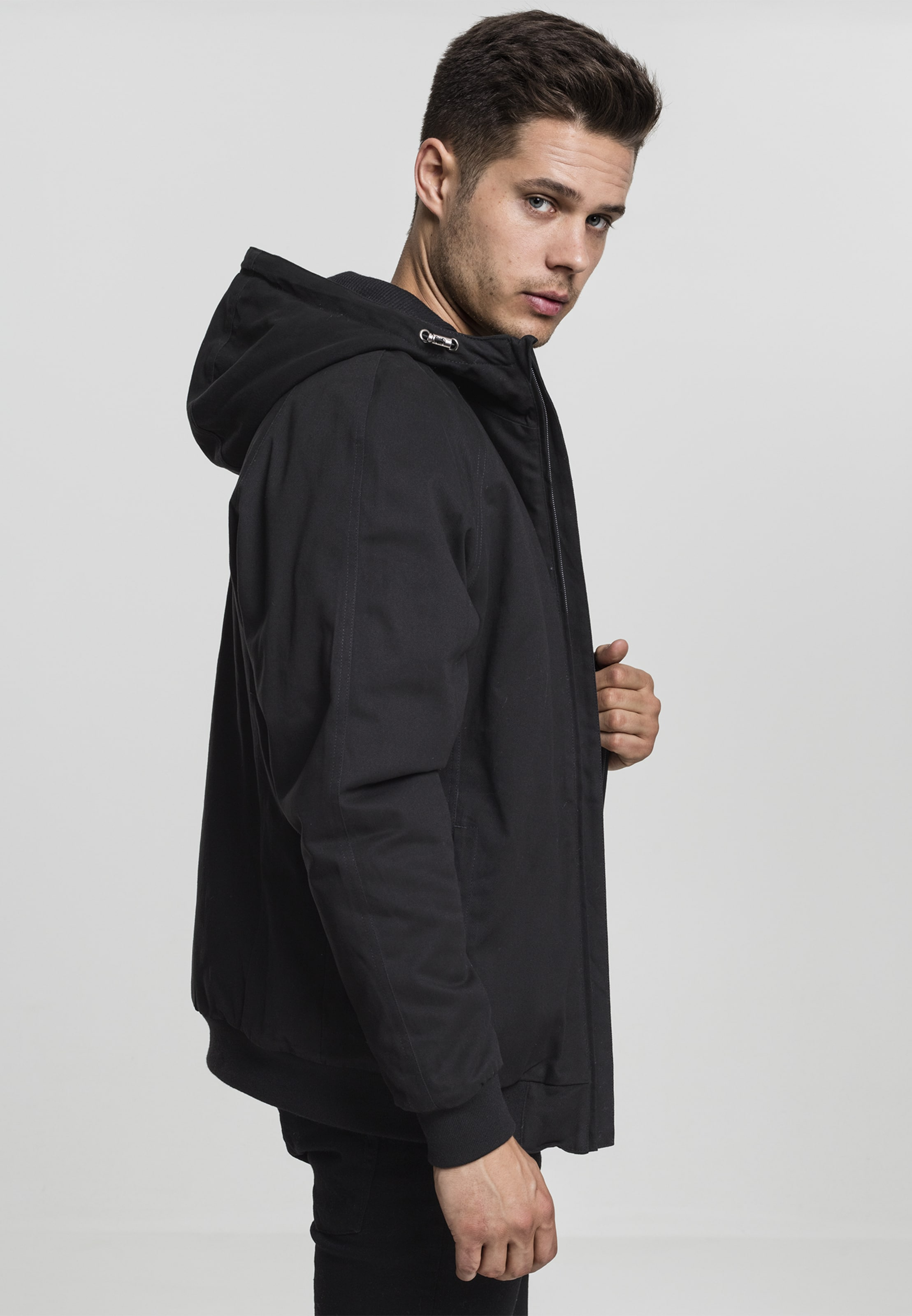 In Jacket Schwarz Classics Urban Hooded ynw80OvNm