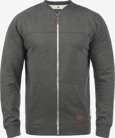 BLEND Sweatjacke 'Arco' in grau, Produktansicht