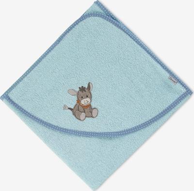 STERNTALER Badetuch 'Emmi' in hellblau / taupe, Produktansicht