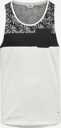 !Solid Tanktop 'Flo' in schwarz / weiß, Produktansicht