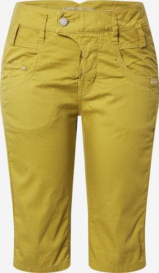Gang Pantalon en moutarde, Vue avec produit