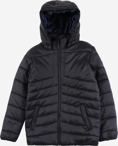 NAME IT Prechodná bunda 'Mabas' - čierna: Pohľad spredu