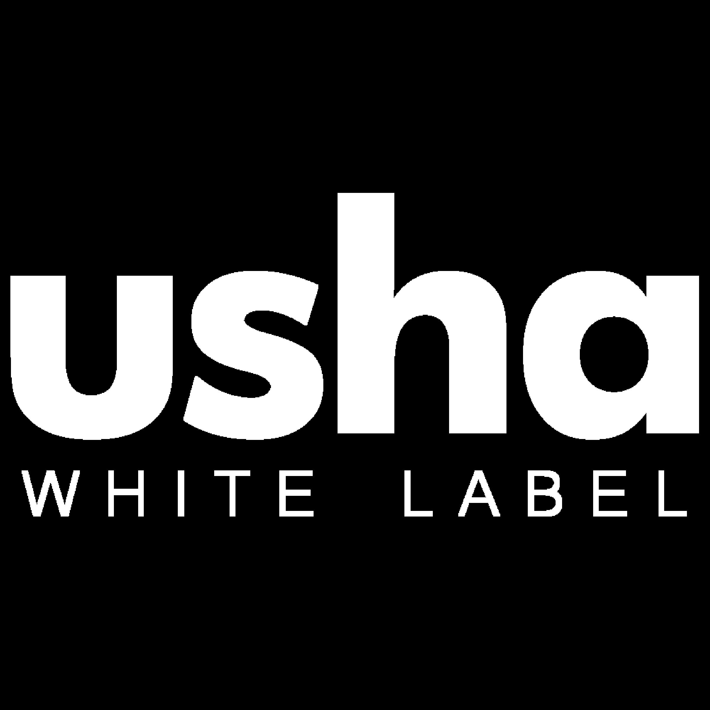 usha WHITE LABEL Logo