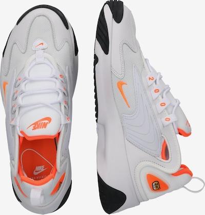 Nike Sportswear Baskets basses 'Nike Zoom 2K' en gris / orange: Vue de profil