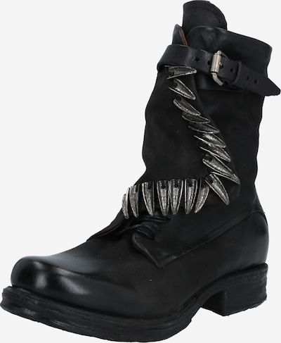 A.S.98 Boots 'Saintec' in Black / Silver, Item view