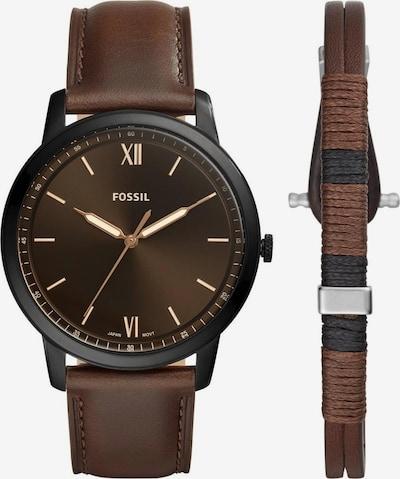 FOSSIL Uhr in braun / schwarz, Produktansicht