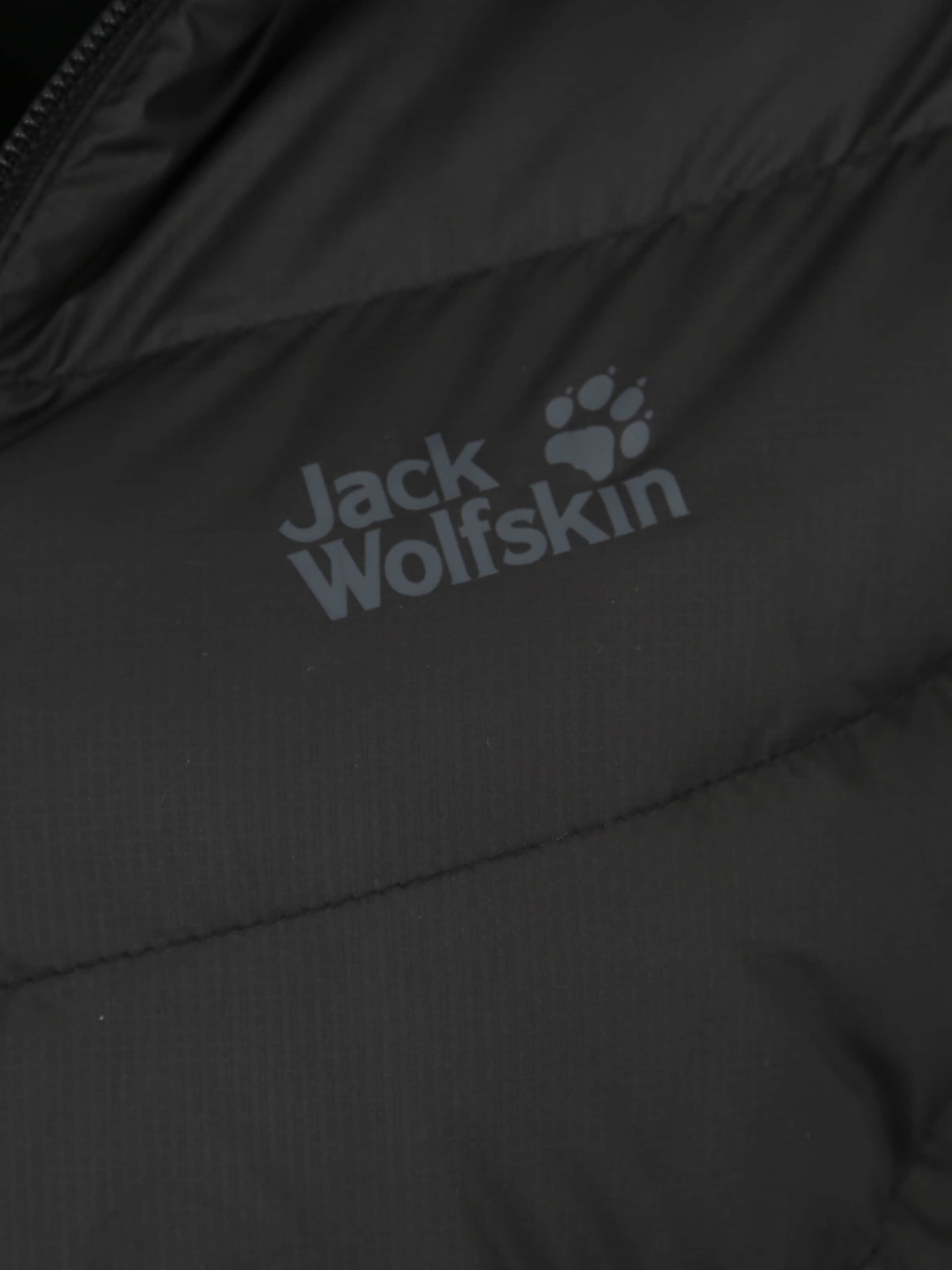 Outdoor WolfskinVeste Noir 'helium' Jack In sQdthrC