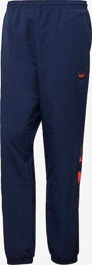 ADIDAS ORIGINALS Sporthose 'Retro' in dunkelblau / koralle, Produktansicht