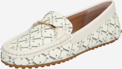 Lauren Ralph Lauren Mocassin 'BRIONY' en beige / blanc, Vue avec produit