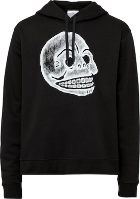 CHEAP MONDAY Hoodie 'Pencil Skull'