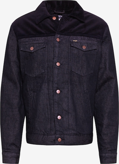 WRANGLER Sherpa Jacke in schwarz, Produktansicht