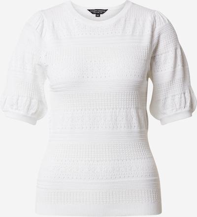 Dorothy Perkins T-shirt 'Ivory Pointelle' en ivoire, Vue avec produit