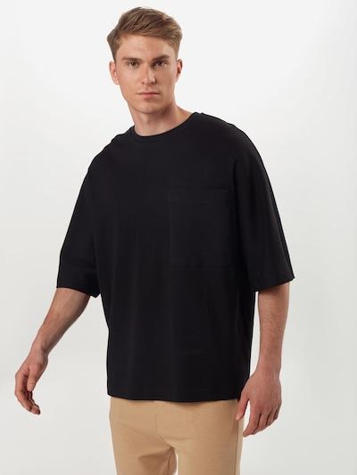 NU-IN T-Shirt en noir: Vue de face