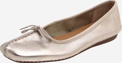 CLARKS Ballerina 'Freckle ice' in gold, Produktansicht