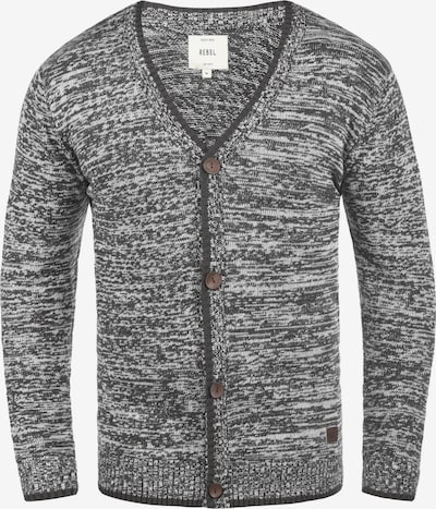 Redefined Rebel Cardigan 'Miles' in grau, Produktansicht