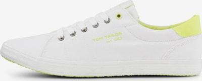 TOM TAILOR Sneaker in weiß, Produktansicht