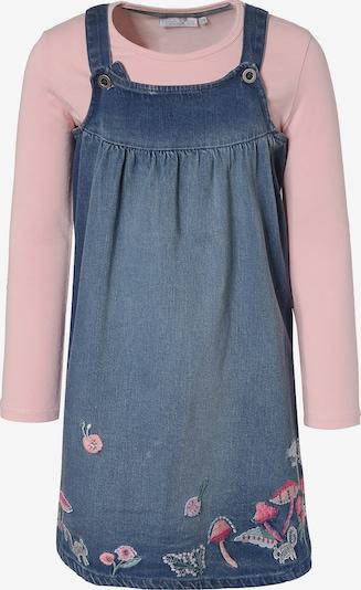 happy girls Kleid mit Shirt in royalblau / pink, Produktansicht