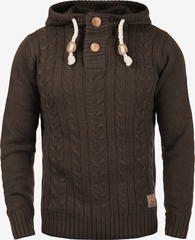 !Solid Pullover 'Pravin' in kastanienbraun, Produktansicht