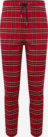 Urban Classics Pantalon en rouge / noir, Vue avec produit