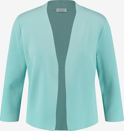 GERRY WEBER Jacke Strick Kurze Jacke aus Feinstrick in blau, Produktansicht