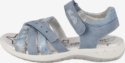 TOM TAILOR Sandalen in blau, Produktansicht